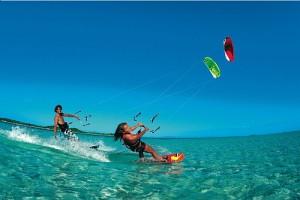 2 kitesurfing