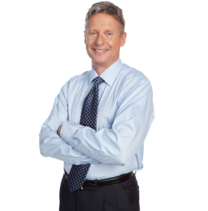 Governor Gary Johnson, former New Mexico governor and 2012 Libertarian Party presidential nominee