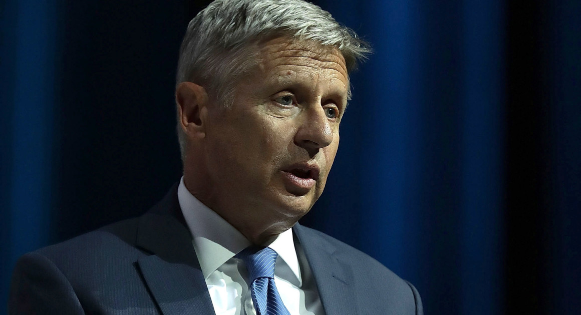 Democrats Now Fear the Gary Johnson Candidacy as Clinton Poll NumbersFall