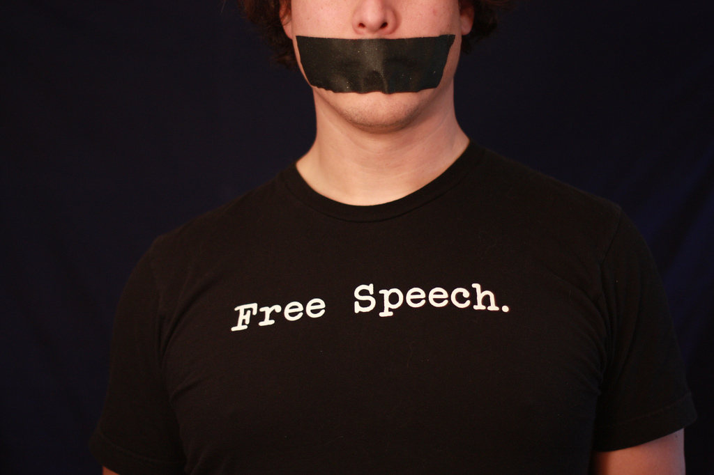 Too many Americans like the idea of free speech, so long as they agree with what is beingsaid